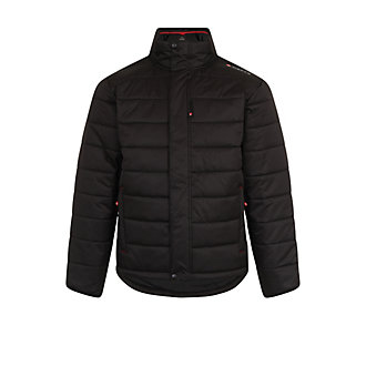 Greys® Strata Black Quilted Jacket