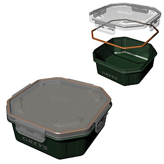Greys® Klip-Lok Perforated Bait Box