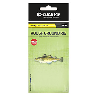 Greys® 1 Hook Clipped Roughground