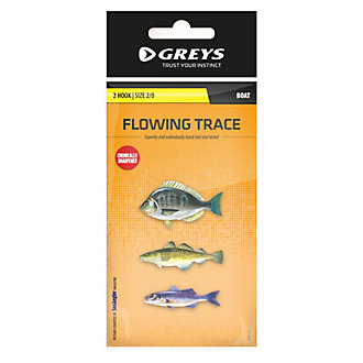 Greys® (Boat) Flowing Trace 2 Hook